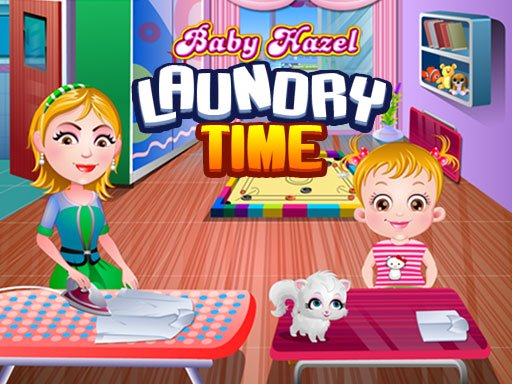 Baby Hazel Laundry Time Online