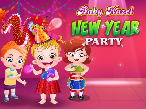 Baby Hazel New Year Party Online